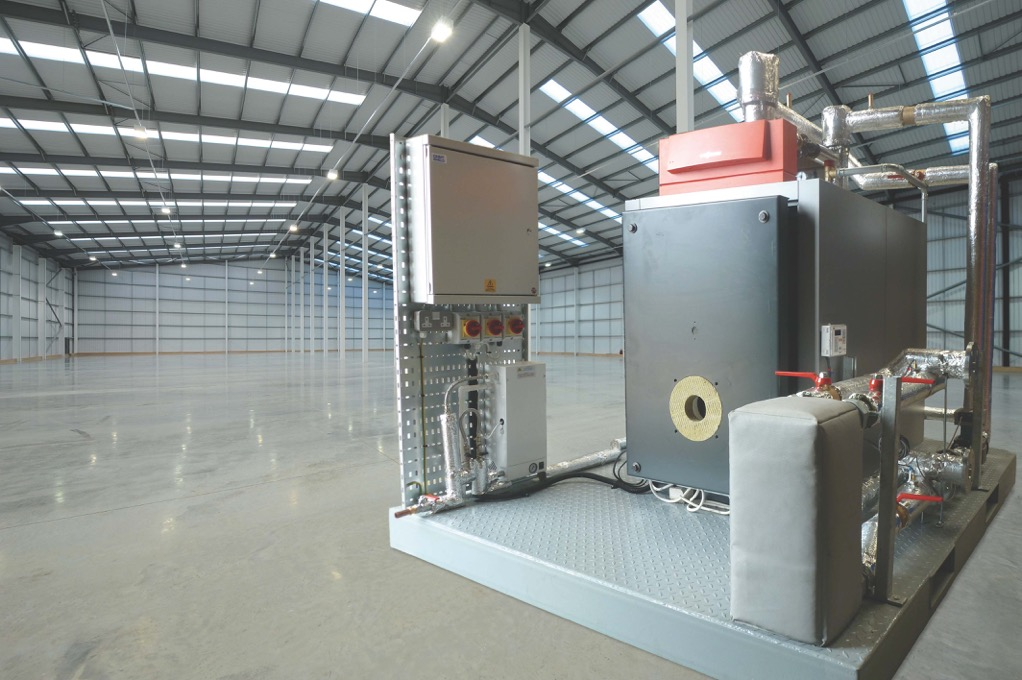 Warehouse Biogas Boiler