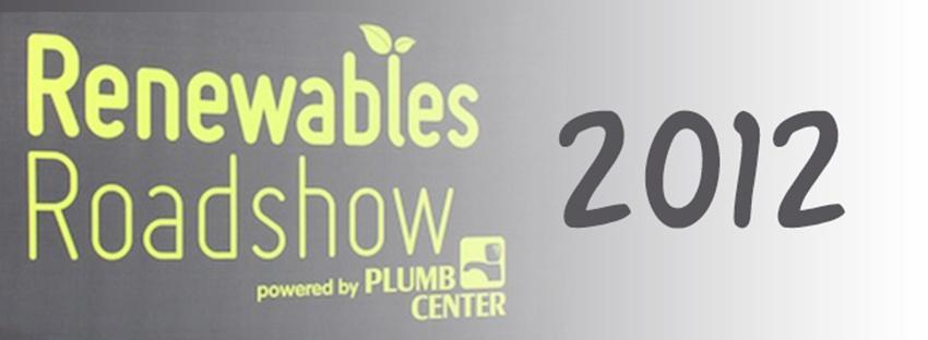 Renewables Roadshow plumb centre shaw renewables biomass
