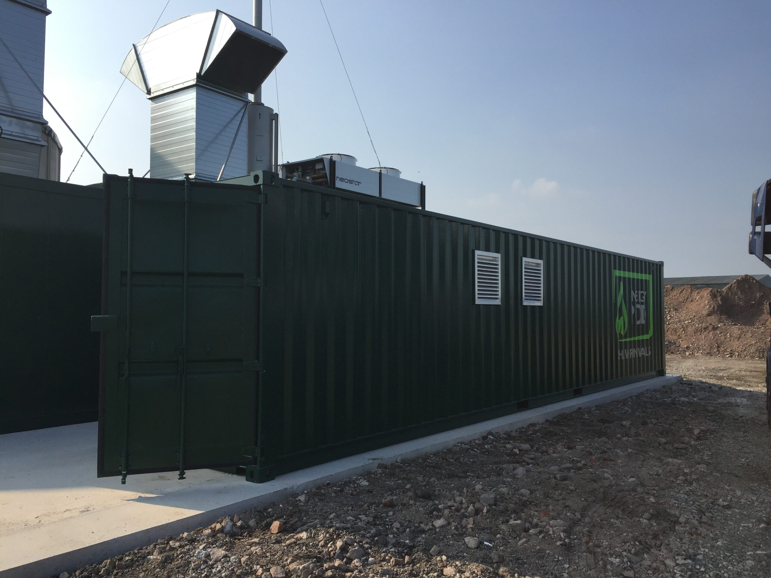 Energy Pod - 400kW Wrexham | Shaw Renewables Ltd